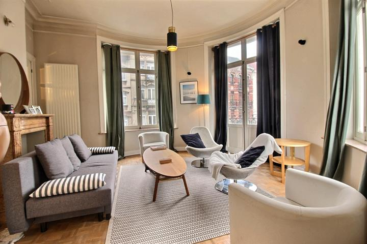 Flat - rented - 1060 Saint-Gilles